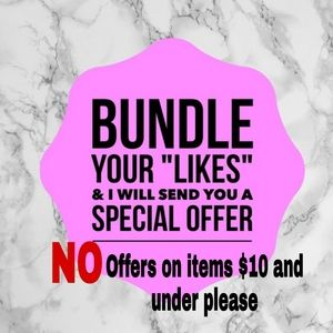 Bundle 2 or more items